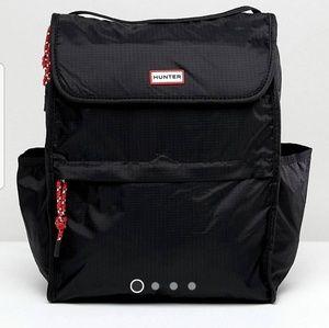 Hunter Original Packable Backpack Black NWT